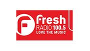 Fresh Radio 100.5 logo