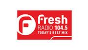 Fresh Radio 104.5 logo