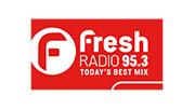 Fresh Radio 95.3 logo
