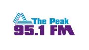 The Peak 95.1 logo